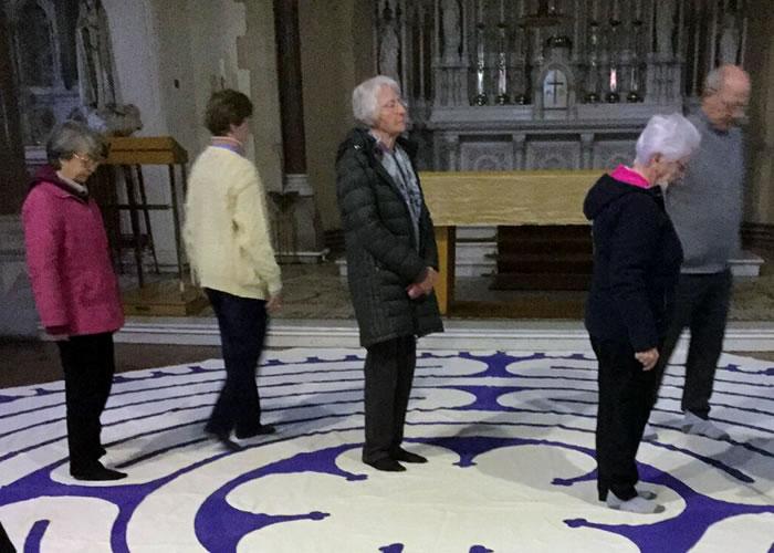 Sabbatical Labyrinth