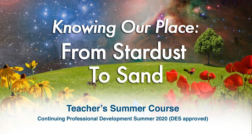 Knowing Our Place - From Stardust to Sand